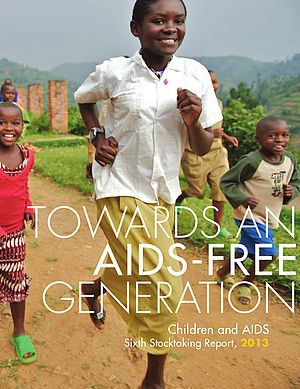 "Download ""Towards an AIDS-free Generation - Children and AIDS: Sixth Stocktaking Report"" (PDF, Engl., 2,9MB)"