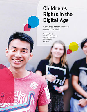 "Das Cover des Berichts ""Children's Rights in the Digital Age"" (PDF, Engl., ca. 3,2MB)"