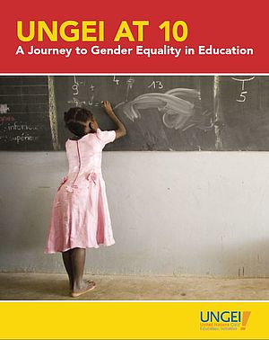 "Das Cover zu ""A Journey to Gender Equality in Education""."